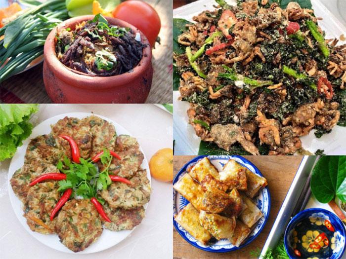 Nhiều món ngon bổ dưỡng được chế biến từ rươi