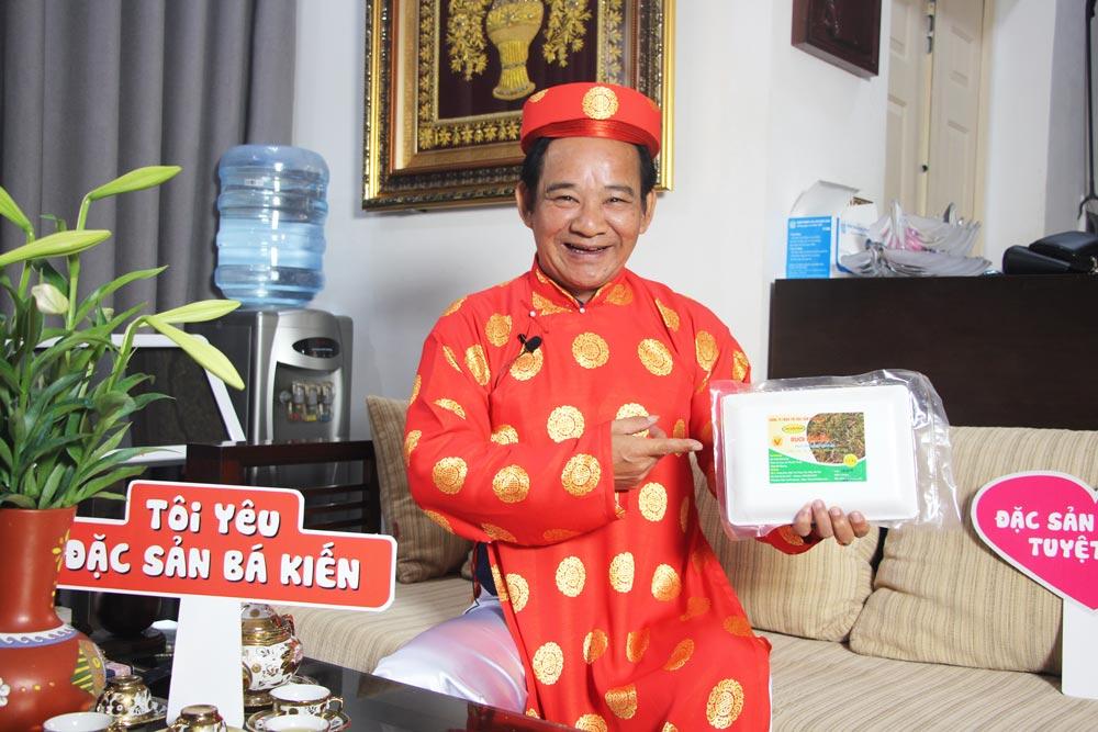 Nghệ sĩ Quang Tèo đánh giá cao chất lượng Rươi Bá Kiến